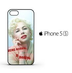 Marilyn Monroe Quotes R0092 iPhone 5 | 5S | SE Case