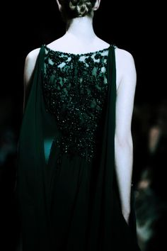 What a gorgeous slytherin dress