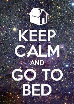 go to bed / vá para a cama
