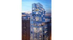 ↦ PORCELANOSA Grupo #Projects ↓ El lujoso y exclusivo edificio The Clare en #NuevaYork #arquitectura