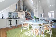 #styling #homestyling #kitchen #kök Vindsvåning med fri utsikt | Move2