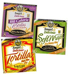 I cannot live without these high fiber low carb tortillas.  They are so versatile and an absolute staple of my low carb diet.