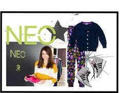 """Rule the Adidas NEO runway with Selena Gomez"" by ejane799 ❤ liked on Polyvore"