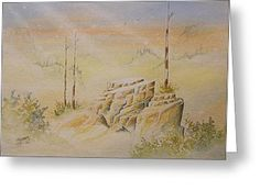 All Greeting Cards - Deschutes Canyon Greeting Card by Richard Faulkner
