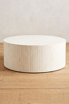 Rounded Inlay Coffee Table - anthropologie.com