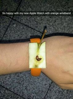 Funny apple watch snapchat - http://jokideo.com/funny-apple-watch-snapchat/