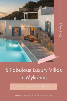 Encircled by the picturesque Tinos, Sifnos, Ikaria, Paros, and Naxos islands, Mykonos is the beating heart of the Aegean Sea. Being a place much favoured by A-listers, world-renowned athletes, actors, celebs and jetsetters for its vibrant party and night scene and the exquisite lifestyle, Mykonos is home to lux villas of unsurpassable beauty and allure which are fully equipped to handle all desires and wishes, even the most quirky ones! Overflow Pool, Pool Side Bar, Mykonos Villas, Travel Tips, Travel Destinations, Blue Shutters, Greece Holiday, Paros, Luxury Villa