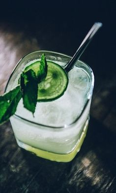 Signature Drink Ideas: Photo by Amy & Stuart on Inspired by This