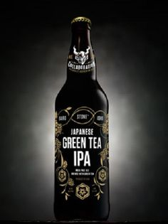 Stone Brewing brings back #Japanese Tea IPA, a three way collaboration brew.