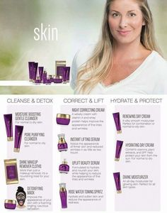 You only have the skin you're in. Take care of it. www.youniquelya.com