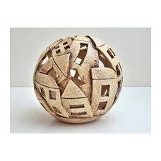 Teelichtkugel *ItaliaFlair* ,Keramikkugel