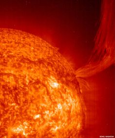 Read about the history and future of Earth's sun as well as fun facts about the sun's age, size, temperature, and phenomena like solar flares.