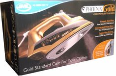 Phoenix Gold: Iron With Built-In Steam Generator & Ceramic Sole Plate 2200