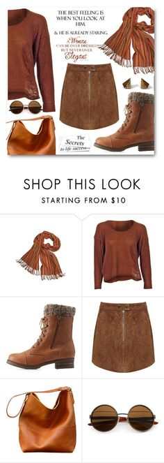 """""""Scarf contest"""" by cassandria ❤ liked on Polyvore featuring TEN, Charlotte Russe, Miss Selfridge and Wolf & Moon"""