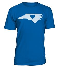 # North Carolina Love Heart T Shirt .  HOW TO ORDER:1. Select the style and color you want: 2. Click Reserve it now3. Select size and quantity4. Enter shipping and billing information5. Done! Simple as that!TIPS: Buy 2 or more to save shipping cost!This is printable if you purchase only one piece. so dont worry, you will get yours.Guaranteed safe and secure checkout via:Paypal | VISA | MASTERCARD