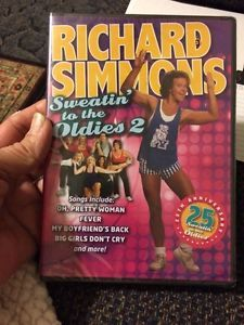 richard simmons sweatin to the oldies 2. new richard simmons - sweatin\u0027 to the oldies 2 an aerobic concert with sweatin