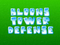 Bloons tower defense 3 unblocked flash games pinterest towers