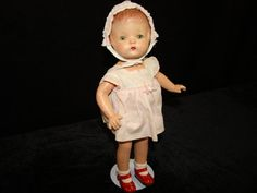 Patsy Joan is an original 1930s Effanbee composition Patsy Doll via Etsy