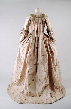 Robe à la Française, 1770s