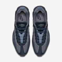 brand new 2bb1d 28b89 Chaussure Nike Air Max 95 Pas Cher Homme Ultra Essential Marine Arsenal  Renard Bleu Bleu Escadron Renard Bleu