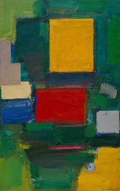 Hans Hofmann, The Gate, 1959–60. Oil on canvas, 75 x 48 1/2 inches (190.5 x 123.2 cm)