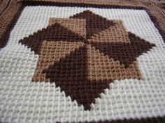 Wires & Yarns: Tunisian Crochet Blanket!!!!