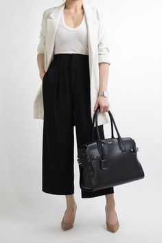 021a0f9b988c Culottes Outfit Work Office Wear for Women