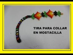 TIRA PARA COLLAR ENMOSTACILLA - YouTube