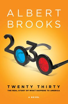 """2030"" by Albert Brooks. The last book I finished. A really fun read and pretty insightful futurism. Nice one Mr. Brooks!"