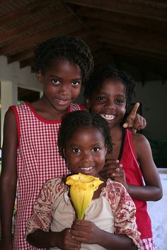 St Lucian Smiles  Such lovely happy people