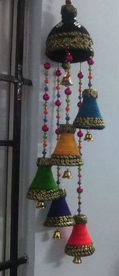 Discover thousands of images about Total waste, Diwali creations made out of bottles Art N Craft, Craft Work, Diy Art, Reuse Plastic Bottles, Plastic Bottle Crafts, Hobbies And Crafts, Arts And Crafts, Diy Para A Casa, Hipster Decor