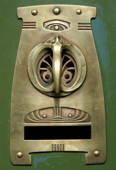 Art Deco Doorhandle
