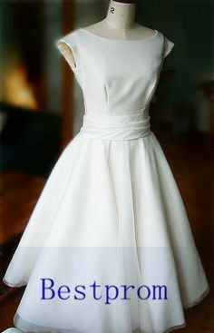 Custom short bridesmaid dress cheap prom dresses by Bestprom, $55.00