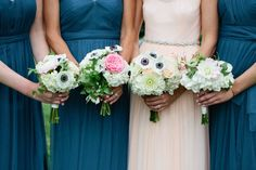 gorgeous flowers and blhdn dresses