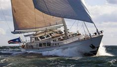 Ocean sailing yachts for sale 80 feet and larger. View sailing yacht listings and search. Sailing Yachts For Sale, Sailing Cruises, Yacht Cruises, Yacht For Sale, Ocean Sailing, Sailing Ships, Palmer Johnson Yachts, Boating School, Vacation Alone