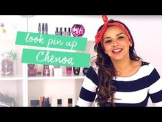 Aprende con Chenoa a crear un look Pin Up fácil y sencillo - YouTube