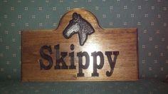 Custom Carved Cottage Sign