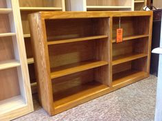Portland made pine bookcase