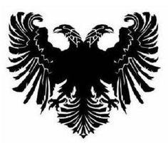 albanian eagle outline - Google Search