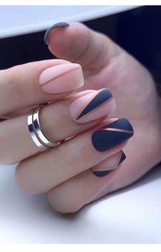 Chic Nails, Glam Nails, Stylish Nails, Manicure Nail Designs, Acrylic Nail Designs, Classy Nail Designs, Short Nail Designs, Elegant Nails, Classy Nails