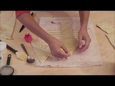 Albero di pasta sfoglia alla nutella – con video ricetta