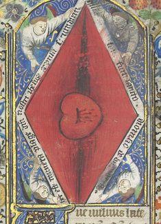 Horae ad usum romanum. Bibliothèque nationale de France, Département des manuscrits, Latin 1369, p. 410.