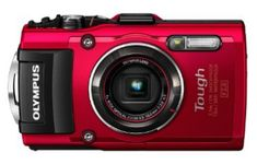 Olympus Tough Waterproof/Shockproof Optical Zoom Digital Camera With Case - Red I need to replace our old digital camera to capture our daughters' back to school moments, this one looks great. Best Digital Camera, Best Camera, Dslr Photography, Underwater Photography, Digital Photography, Gopro, Best Underwater Camera, Cameras Nikon, Telephoto Zoom Lens