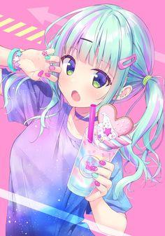 Especially cute anime girls and boys being cute. Content from anime, manga,. Anime Angel Girl, Anime Wolf Girl, Manga Anime Girl, Cool Anime Girl, Anime Child, Anime Girl Drawings, Anime Artwork, Kawaii Anime Girl, Anime Girls