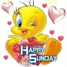 Sunday Wishes, Good Morning Happy Monday, Cute Good Morning Quotes, Good Morning Wishes, Happy Saturday, Bugs Bunny Quotes, Tweety Bird Quotes, Blessed Sunday Quotes, Happy Weekend Quotes