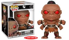 Funko Pop Mortal Kombat Gamestop Exclusive Goro In Stock Mortal Kombat, Funko Pop Figures, Vinyl Figures, Action Figures, Funk Pop, Hulk, Funko Pop Dolls, Funko Pop Iron Man, Pop Collection