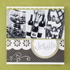 wedding+scrapbook+ideas+gallery   wedding book....more and more ideas