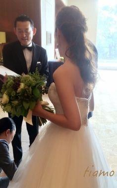 ドレスから色打掛へとチェンジ♡お洒落花嫁さまの素敵な1日   大人可愛いブライダルヘアメイク 『tiamo』 の結婚カタログ