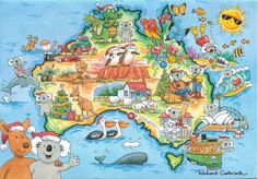 Holiday Greeting Card, Australia by Richard Galbraith