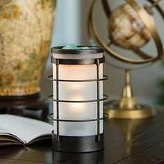 #CandleMeltWarmers  Coastal Metal and Glass Illumination  This nautical inspired metal and glass illumination warmer brings a coastal ambiance to your home decor.  SHOP LINK IN BIO http://ift.tt/1WhkN1f